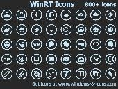 WinRT Icons Screenshot