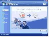 Wondershare PPT2DVD Lite Screenshot