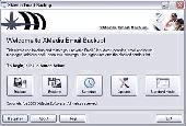 XMedia EMail Backup Screenshot