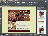 Screenshot of Xara Web Designer MX Premium