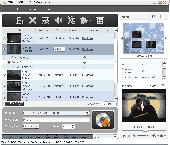 Xilisoft MP4 to DVD Converter Screenshot