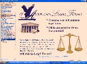American Legal and Business Forms Screenshot