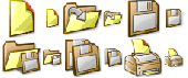 Autumn Icons - Small and Large edition Screenshot