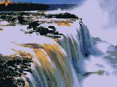 Big Waterfall Sreensaver Screenshot