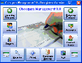 Cheques Management Screenshot