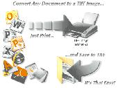 Convert to TIFF with TIFF Printer Driver Screenshot