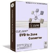 Cucusoft-DVD To Zune Converter Screenshot