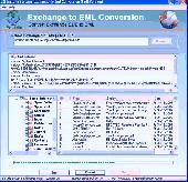 EDB to EML Conversion Screenshot