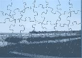 FBRO Beach Scene Puzzle Screenshot