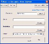 FLAC to Zen Audio Free Convert Screenshot