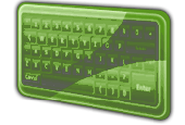 FPS Virtual Keyboard for WPF Screenshot