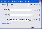 Free Convert MPEG-4 Audio to M4A Screenshot