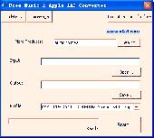 Free Music 2 Apple AAC Converter Screenshot