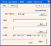 Free Shockwave 2 MPEG-4 Audio Converter Screenshot