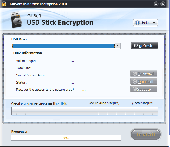 GiliSoft USB Stick Encryption Screenshot