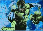 Green Lantern Puzzle Screenshot
