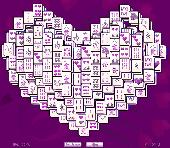 Heart Mahjong Solitaire Screenshot