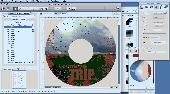 Home Disc Labels, Mac CD/DVD Label Maker Screenshot