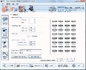 Industrial Barcode Software Screenshot