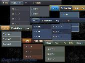 jQuery Multi Level Menu Style 11 Screenshot