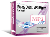 Blu-ray DVD to MP3 Ripper for Mac Screenshot