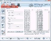 Manufacturing Industry Barcode Software Screenshot
