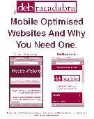 Mobile Website Design Ebook Screenshot