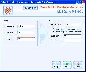 MySQL To MS SQL Conversion Software Screenshot