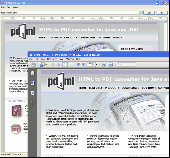 PD4ML.NET. HTML to PDF converter 3.2.4 (fin Screenshot