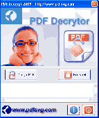 PDF Decrypt Screenshot