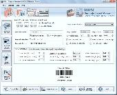Post Office and Bank Barcode Software Screenshot