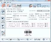 Postal and Banking Barcode Software Screenshot