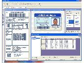 Screenshot of Print Studio Photo ID Card Software 2E