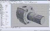 Screenshot of progeCAD Standard AutoCAD Clone
