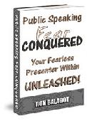 Public Speaking Fear Conquered (Ebook) Screenshot