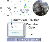 Skinny Clock 1.0 RC Screenshot