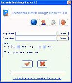 Sofonesia Batch Image Resizer Screenshot
