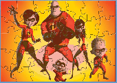 SPM Incredibles Squeeze Page Puzzle Screenshot