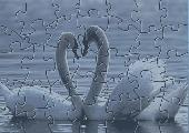 swans puzzle Screenshot