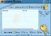 SysInfoTools MSN Password Recovery Screenshot