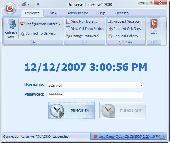 TimeFlow Time Clock Software Screenshot