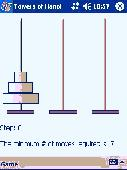 Towers of Hanoi for Pocket PC Screenshot