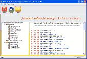 Screenshot of yahoo messenger archive files decoder