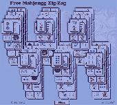 Screenshot of Zig Zag Free Mahjongg