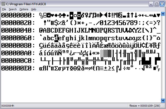 1Fh Binary/Hex Editor