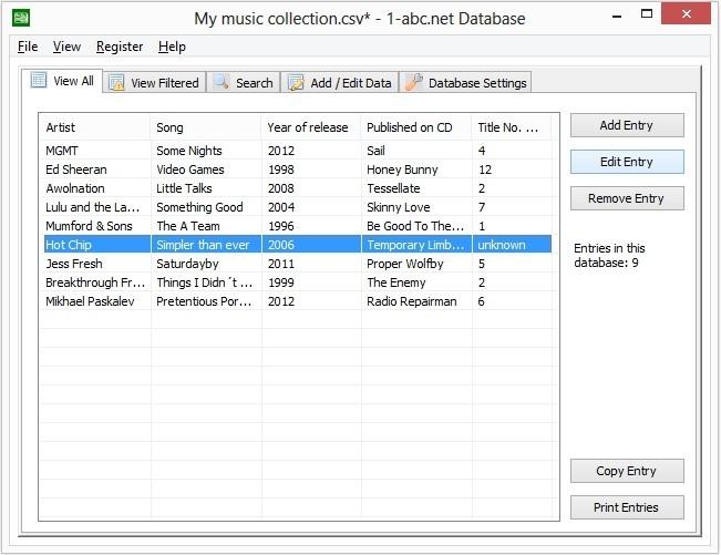 1-abc.net Database