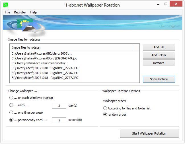 1-abc.net Wallpaper Rotation