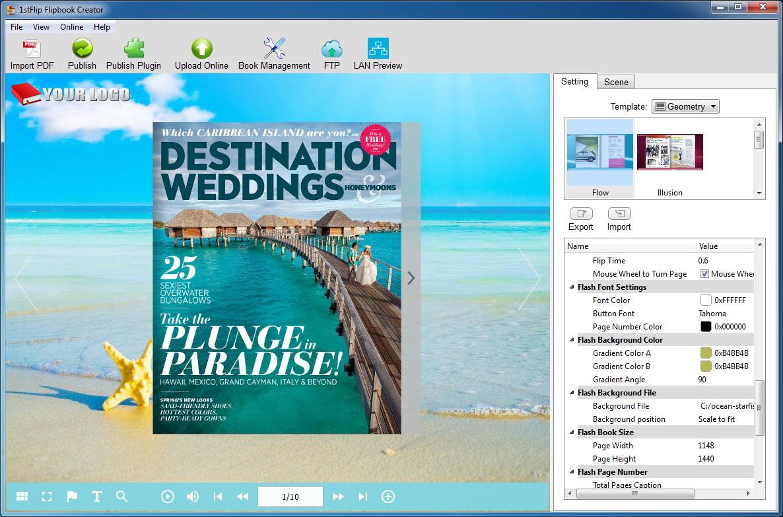 1stFlip Flipbook Creator for Windows