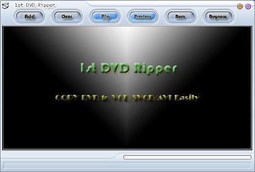 1st DVD Ripper