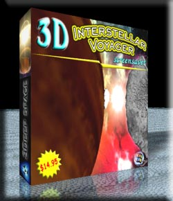 3D Interstellar Voyager Screensaver
